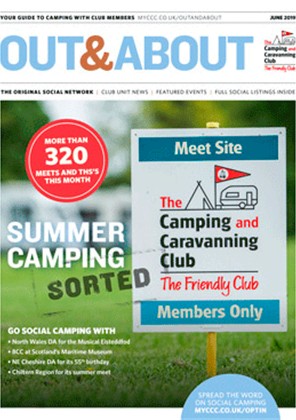 Camping and Caravanning club magazine - June 2019