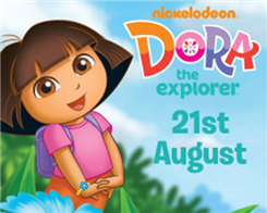 Dora the explorer visits Africa Alive!