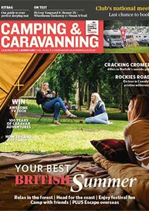 Camping and Caravanning club magazine - August 2019