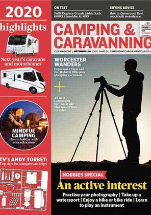 Camping and Caravanning club magazine - September 2019