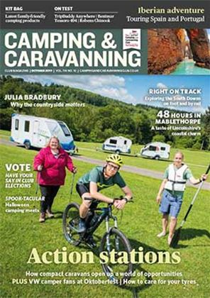 Magazine Library The Camping And Caravanning Club