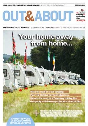 Camping and Caravanning club magazine - October 2019