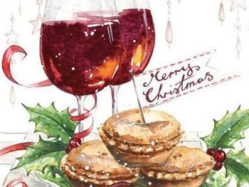 Mince Pies and Mulled Wine at Canterbury Club Site