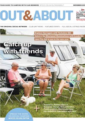Camping and Caravanning club magazine - November 2019
