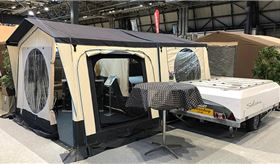 Motorhome & Caravan Show highlights: trailer tents