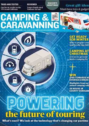 Camping and Caravanning club magazine - December 2019