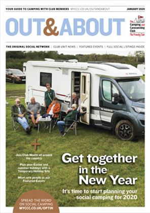 Camping and Caravanning club magazine - January 2020