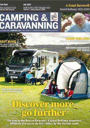 Camping and Caravanning club magazine - February 2020