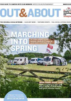 Camping and Caravanning club magazine - March 2020