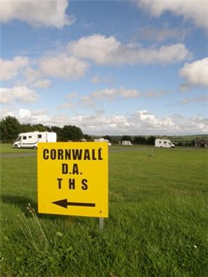 A Temporary Holiday Site (THS) in Cornwall