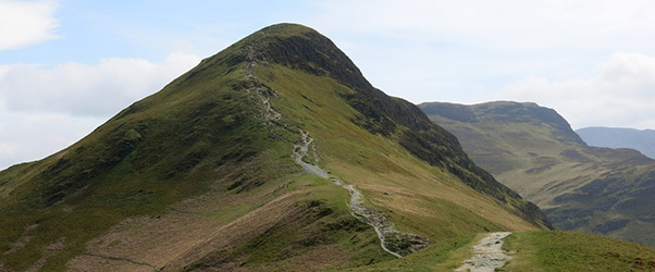Easily accessible, Cat Bells is one of the Lake District's most popular fell walks as the erosion testifies