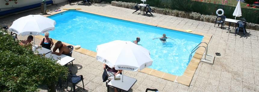 The swimming pool at le Mouin