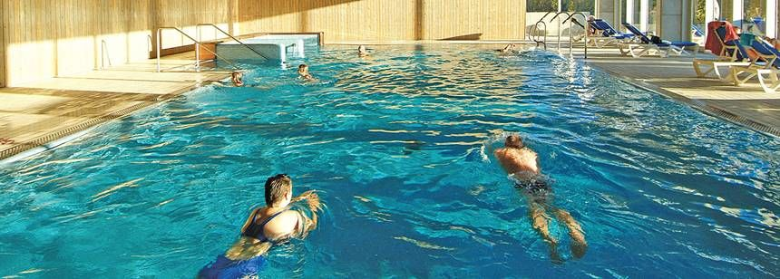 Indoor Swimming Pool Camping Vilanova Park Campsite, Vilanova I La Geltru Spain
