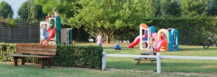 The play area at La Bien Assise