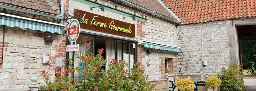The on-site restaurant at La Bien Assise
