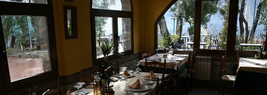 Restaurant at Camping Las Lomas, near Granada, Spain