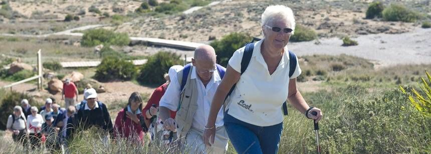 Walking Trails Surrounding the Caravaning La Manga Campsite, Menor Spain