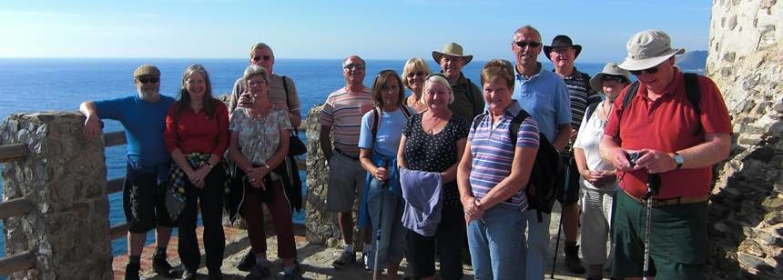Great walking in the hills around Camping Castillo de Baños, near La Mamola, Costa Tropical