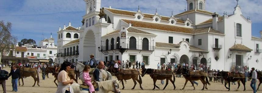 Local attractions In A Historic Town In Spain