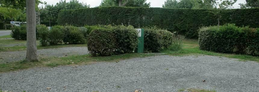 Facilities at the Larrouleta Campsite, Urrugne France