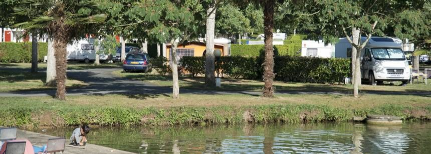 Lake and Water Sports Activities at the Larrouleta Campsite, Urrugne France