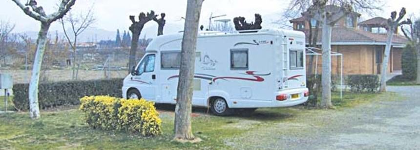 313154f312 Grass Pitches With Views the Spanish Countryside De Haro Campsite
