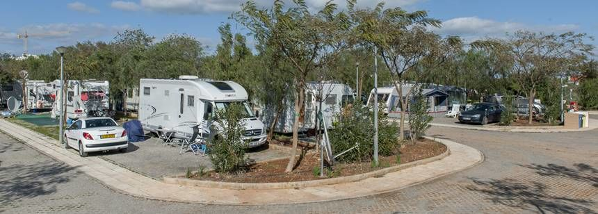 Pitches at Camping Ria Formosa, Algarve