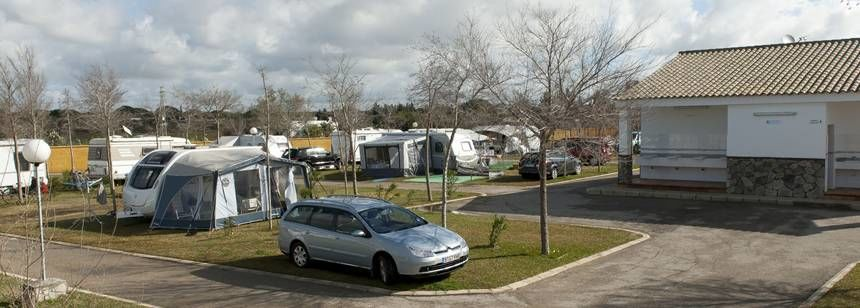 Pitches at Camping Roche, Conil de la Frontera
