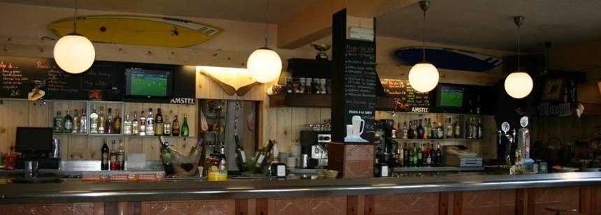 The bar/restaurant at Camping Zarautz, Zarautz, Bilbao and Santander region, Spain