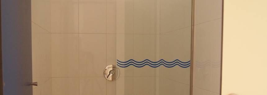 High quality wash rooms at Mar Azul, Balerma, Costa Almería