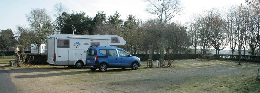 Hardstanding pitches, Camping le Jardin de Sully, St Père-sur-Loire, France