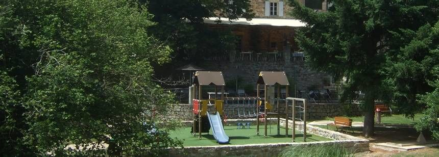 Les Ranchisses - restaurant and play area