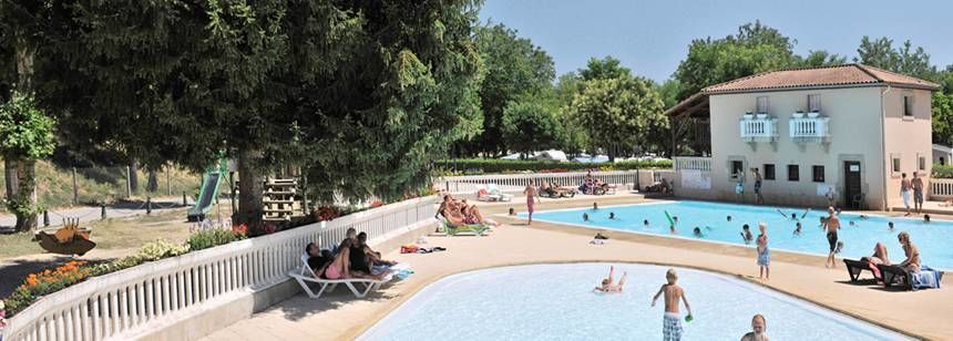 Water Sports Activities at the La Bastide En Ardèche Campsite, France