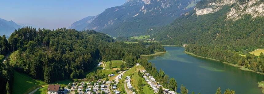 Scenic Views at the Seeblick-Toni Campsite, Austria