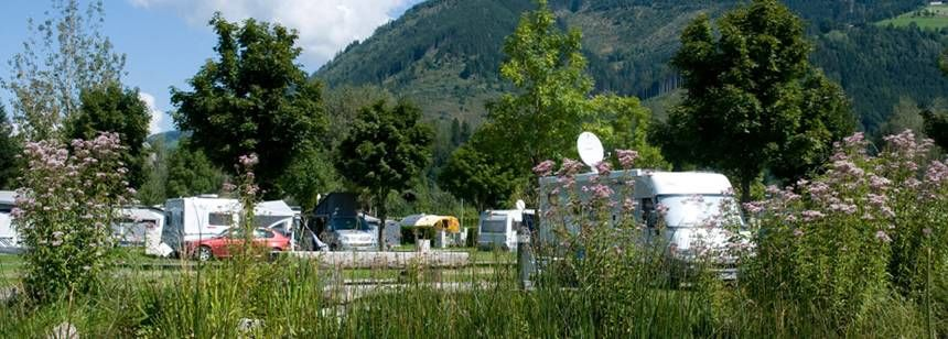 Grass Pitches in the scenic Sportcamp Woferlgut campsite, Austria