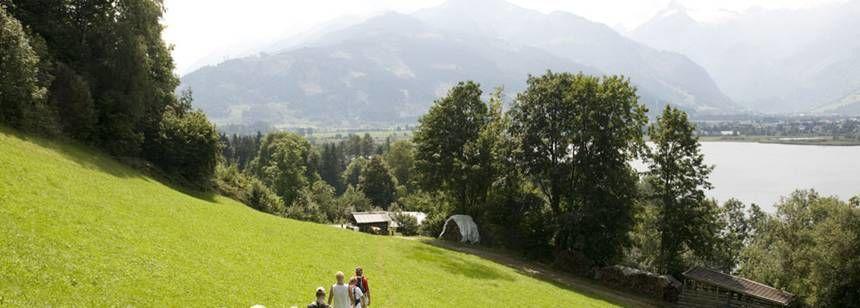 Nature Trails and Scenic Views at the Sportcamp Woferlgut campsite, Austria