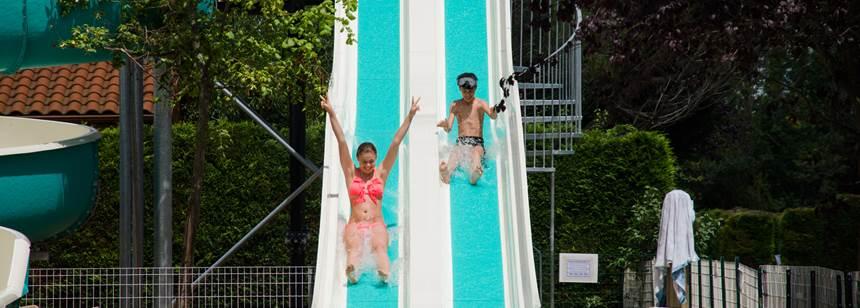 Le Clos Auroy, Orcet - swimming pool water slide