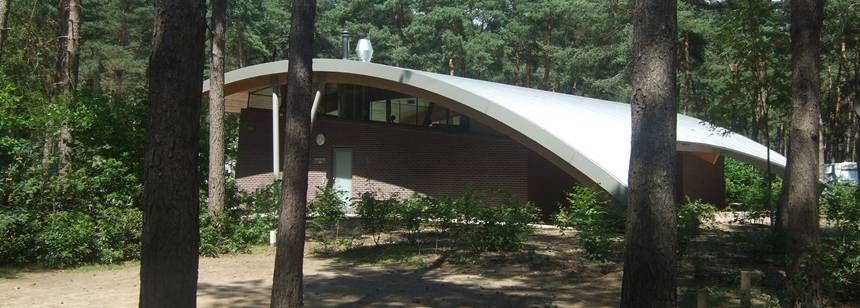 Facilities at the De Lilse Bergen Campsite, Belguim