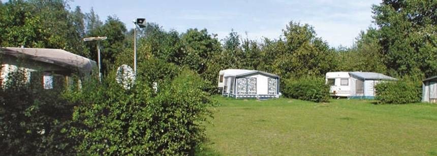 Secluded Grass Pitches at the Blaarmeersen Campsite, Belguim
