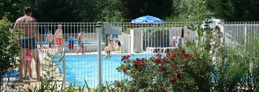 The pool at Les Ripettes