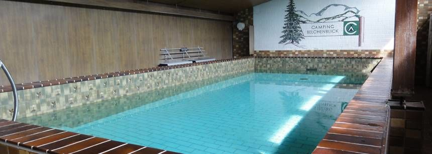 Indoor pool at Camping Belchenblick, Germany