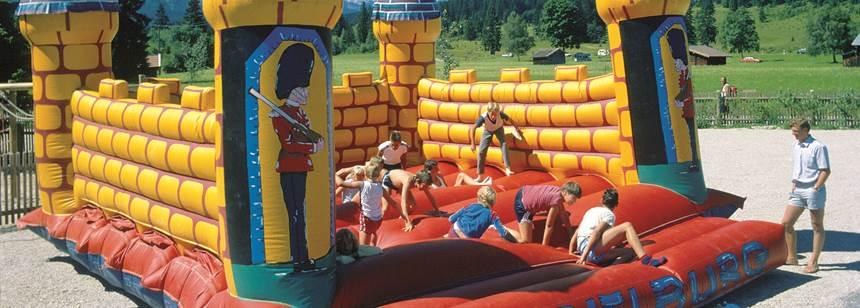 Fun for kids at Camping Tennsee, Bavaria, Germany