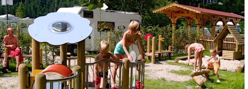 Childrens Play Area and Activities at the Tennsee Campsite, Germany