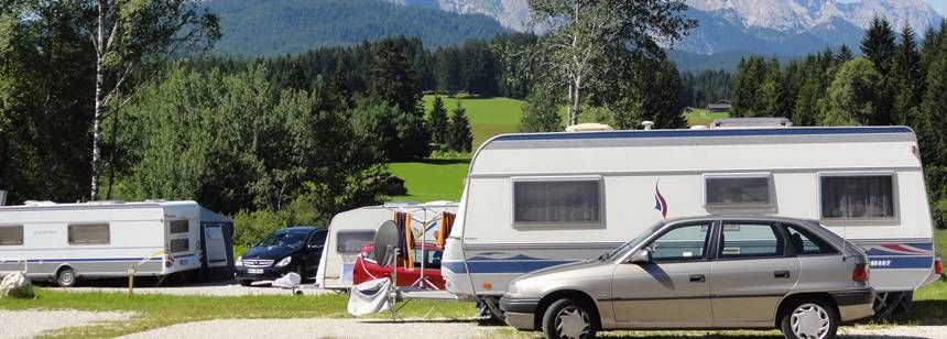 Pitches in the Scenic Surrounds of Tennsee Campsite, Germany