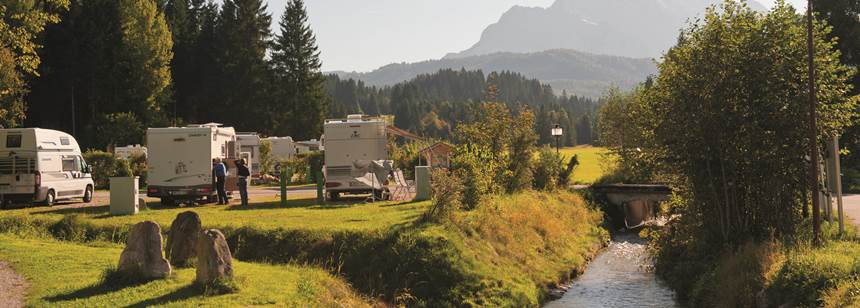 3a0c293780 ... Germany Stream side pitches at Camping Tennsee