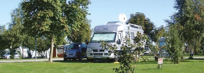 Grass Pitches in the Scenic Surrounds of Lux Oase Campsite, Germany