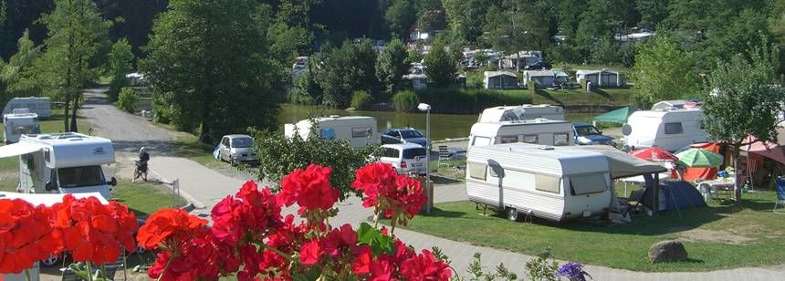Grass Pitches With Scenic Views of the Gitzenweiler Hof Campsite, Germany