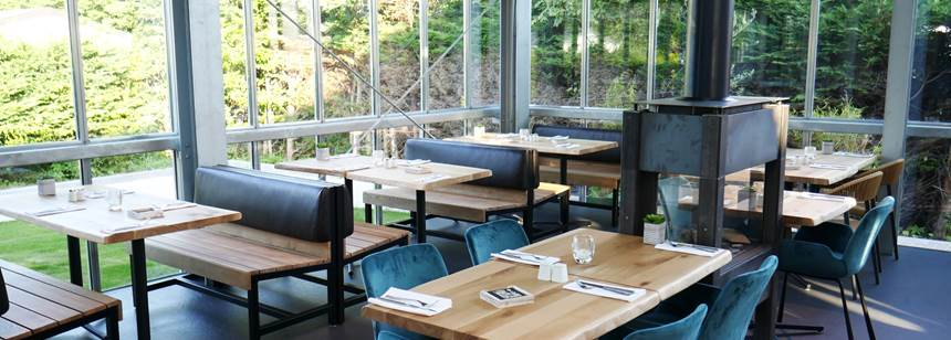 The Dutch-style restaurant, Camping Koningshof, Rijnsburg, Netherland