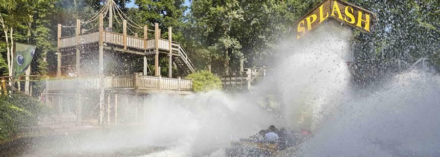 Amusement Park, Duinrell campsite, Wassenaar, Holland