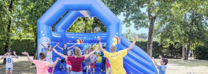 Fun for kids at Camping La Domaine d'Oléron, south west France